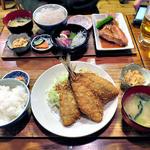 一膳飯屋 八起 - アジフライ定食