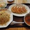 大阪王将 - 料理写真:餃子定食シングル