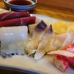 幸寿司 - お刺身盛り合わせ