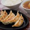 北京 - 料理写真:ぎょうざ+ライス【2014年12月】