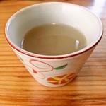 松平 - そば湯