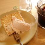 カフェ ハルディン - 2013年4月 Bランチセットのデザート