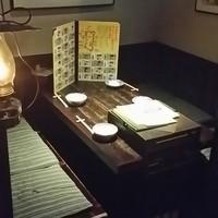 秋田きりたんぽ屋 - 6名様がけの半個室は全部で4席!4名様ならお荷物があってもゆったり座れます。