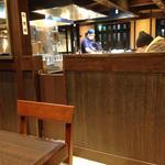 青葉 - H26.12 二つしかない奥のテーブル席へ