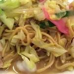 中華菜館 福壽 - 皿うどん
