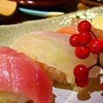 33971381 - すし会席(鮨楽)、にぎり寿司