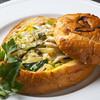 グレース - 料理写真:柔らかいパンにもたっぷり旨みを含めた『フィットチーネ』