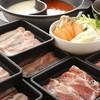 豚の華 - 料理写真:新鮮野菜で巻けば美味しさ倍増!  『十勝豚のしゃぶしゃぶ』