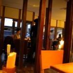 神楽坂 茶寮 - この柱が印象的