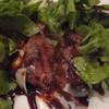 トラットリア・クオーレ - 料理写真:2014/09 黒毛和牛のタリアータ ハーブサラダ添え(1800円)