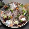 いけす創作 千彩 - 料理写真:味わい方がいろいろ楽しめる『活造り付お刺身盛り合わせ』