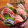 波平 - 料理写真:新鮮な旬の魚介がたっぷり味わえる『お祭り盛』