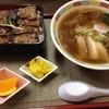 トクちゃんらーめん - 料理写真:蒲焼風とん重セット 980円