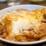 印度カレー 小いけ - カツ丼