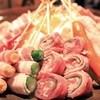 串工房無我 - 料理写真:巻物たくさんの串盛
