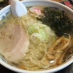 王将ラーメン - 料理写真:塩ラーメン550円