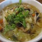 唐朝刀削麺 - 2014/12 野菜麺
