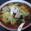 らぁめん 龍江 - 料理写真:タンメン(醤油味)(2014.07.19)