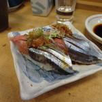 六五寿司 - 秋刀魚