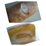 オペラ - スポンジ生地は「フワフワ」の食感。 生クリームも上質で美味しいそうです。
