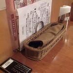 ニユートーキヨー ビヤレストラン - 卓上