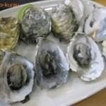 陳家蚵捲 - 烤鮮蚵 (8個)100元(350円)