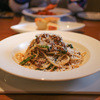 ラ・ヴェーナ・デル・レンニョ - 料理写真:北海道産蝦夷鹿とちぢみほうれん草のボロネーゼスパゲッティ☆