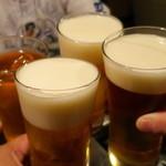 グルマンズ いとう - 友達4人で乾杯♪