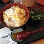 太昌うどん - 料理写真:親子丼  お昼ごはんに頂きました。 出汁が効いていてうまし!  (*´ڡ`●)