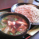 長寿庵 - 豚汁つけ蕎麦