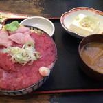 しれとこ食堂 - マグロ中落ち丼(限定2食)