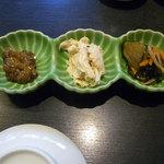 うまい鮨勘 - コース料理の付きだし