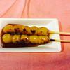 おかめ茶屋 - 料理写真:みたらし団子・200円