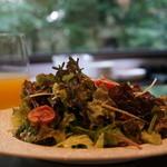 キッチン イトウ スタイル - 無農薬野菜のミックスサラダ 800円