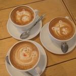 MOVE CAFE - ラテアート会しました*
