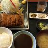 楽彩 - 料理写真:ヒレカツ定食(並)