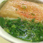 蒜山高原サービスエリア 下り線 レストラン - ¥550のきつねそばを頂きました。