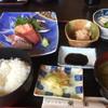 きっちん榮楽 - 料理写真:刺身定食850円(^^)