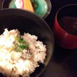懐石料理 花壇 - 食事(2014/12)
