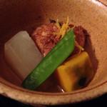 懐石料理 花壇 - 炊き合わせ(2014/12)