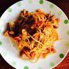 ノーブル - 料理写真:摩周しいたけときのこのスパゲッティ