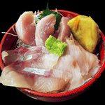 34139506 - 本日の地魚3種盛り丼
