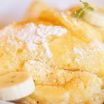 カッフェ ロカーサ - 土日限定リコッタチーズのパンケーキ