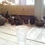 ジャンクコーヒー - お水