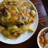 中華飯店大川 - 料理写真:焼きそば(¥800税込み)盛り良し