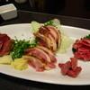 きっちん かご - 料理写真:地鶏刺身盛合せ