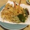 天婦羅みやざき - 料理写真:天ぷら定食の天ぷらアップ