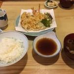 天婦羅みやざき - 天ぷら定食
