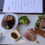 鎌倉 松原庵 - ランチコースの前菜