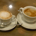 JKカフェ - マッキャートとコーヒー・マイルド どちらも¥400くらい☆♪